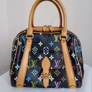 LV multicolor monogram in Black